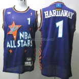 Maillot Basket All Star Hardaway 1 Bleu 1995