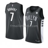 Maillot Brooklyn Nets Kevin Durant Statement 2019-20 Noir