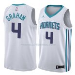 Maillot Charlotte Hornets Devonte Graham Association 2018 Blanc