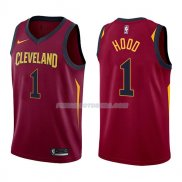 Maillot Cleveland Cavaliers Rodney Hood Icon 2017-18 1 Rojo