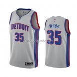 Maillot Detroit Pistons Christian Wood Statement 2020-21 Gris