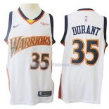 Maillot Golden State Warriors Kevin Durant Mitchell & Ness 2009-10 Blanc