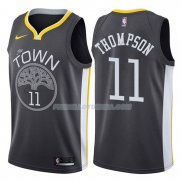 Maillot Basket Golden State Warriors Klay Thompson Statement 11 2017-18 Gris