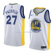 Maillot Golden State Warriors Zaza Pachulia Association 2018 Blanc
