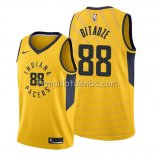 Maillot Indiana Pacers Goga Bitadze Statement Or