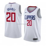 Maillot Los Angeles Clippers Landry Shamet Association 2018 Blanc