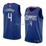 Maillot Los Angeles Clippers Milos Teodosic Icon 2018 Bleu