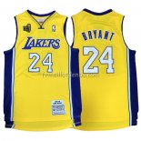 Maillot Los Angeles Lakers Kobe Bryant 2009-10 Finals Jaune