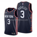 Maillot New York Knicks Maurice Harkless Ville 2019-20 Bleu