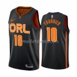 Maillot Orlando Magic Evan Fournier Ville Edition Noir2