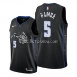 Maillot Orlando Magic Mohamed Bamba Ville Edition Noir