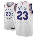 Maillot Philadelphia 76ers Jimmy Butler Earned 2018-19 Gris