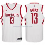 Maillot Basket Rockets James Harden 2017-18 13 Blanc