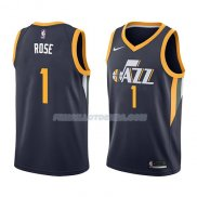 Maillot Utah Jazz Derrick Rose Icon 2018 Bleu
