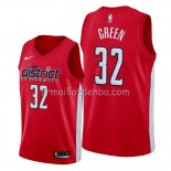 Maillot Washington Wizards Jeff Green Earned Edition Rouge
