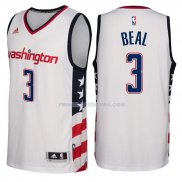 Maillot Basket Washington Wizards 2017-18 Beal 3 Blanco