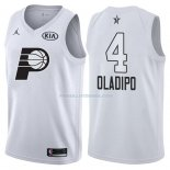 Maillot All Star 2018 Indiana Pacers Victor Oladipo 4 Blanc