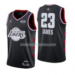 Maillot All Star 2019 Los Angeles Lakers Lebron James Noir