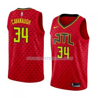 Maillot Atlanta Hawks Tyler Cavanaugh Statement 2018 Rouge