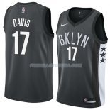 Maillot Brooklyn Nets Ed Davis Statement 2018 Noir Noir