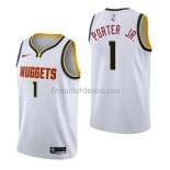 Maillot Denver Nuggets Michael Porter Jr. Association Blanc
