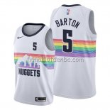 Maillot Denver Nuggets Will Barton Ville Edition Blanc
