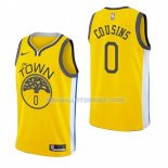 Maillot Golden State Warriors Demarcus Cousins Earned 2018-19 Jaune