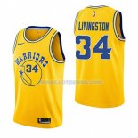 Maillot Golden State Warriors Shaun Livingston Hardwood Classic 2018-19 Jaune