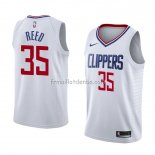 Maillot Los Angeles Clippers Willie Reed Association 2018 Blanc