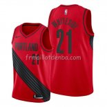 Maillot Portland Trail Blazers Hassan Whiteside Statement Rouge
