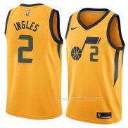 Maillot Utah Jazz Joe Ingles Statement 2018 Jaune