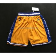 Short Golden State Warriors Jaune