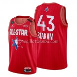 Maillot All Star 2020 Tornto Raptors Pascal Siakam Rouge