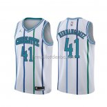 Maillot Charlotte Hornets Willy Hernangomez Classic Blanc