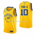 Maillot Golden State Warriors Jacob Evans Iii Hardwood Classic 2018-19 Jaune