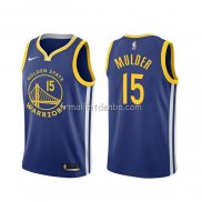 Maillot Golden State Warriors Mychal Mulder Icon Bleu