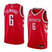 Maillot Houston Rockets Vincent Edwards Icon 2017-18 6 Rouge