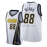 Maillot Indiana Pacers Goga Bitadze Earned Blanc