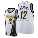 Maillot Indiana Pacers T.j. Mcconnell Earned Blanc