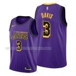 Maillot Los Angeles Lakers Anthony Davis Ciudad 2019 Volet