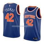 Maillot New York Knicks Lance Thomas Icon 2018 Bleu