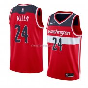 Maillot Washington Wizards Lavoy Allen Icon 2018 Rouge