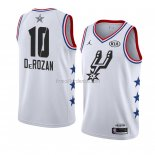 Maillot All Star 2019 San Antonio Spurs Demar Derozan Blanc
