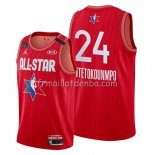 Maillot All Star 2020 Milwaukee Bucks Giannis Antetokounmpo Rouge