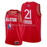Maillot All Star 2020 Philadelphia 76ers Joel Embiid Rouge