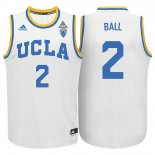 Maillot Basket Basket NCAA UCLA Bruins Ball 2 Blanc