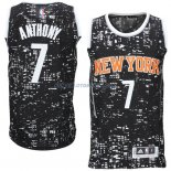Maillot Basket New York Knicks 2017Anthony 7 Noctilucent