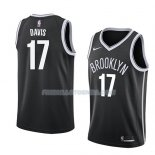 Maillot Brooklyn Nets Ed Davis Icon 2018 Noir Noir
