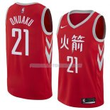 Maillot Houston Rockets Chinanu Onuaku Ciudad 2018 Rouge