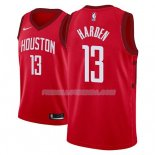 Maillot Houston Rockets James Harden Earned 2018-19 Rouge